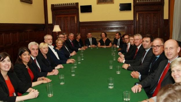 Shadow cabinet meeting