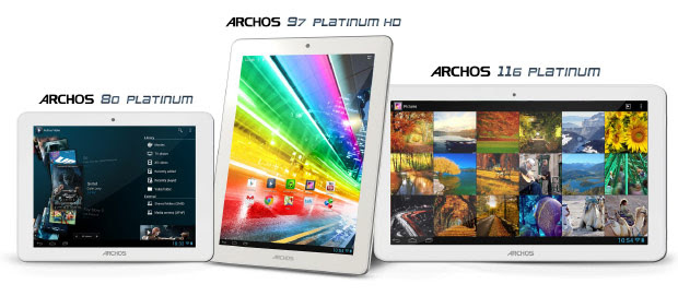 Archos 116 Platinum tablet joins CES lineup with 116inch 1080p IPS screen for $349