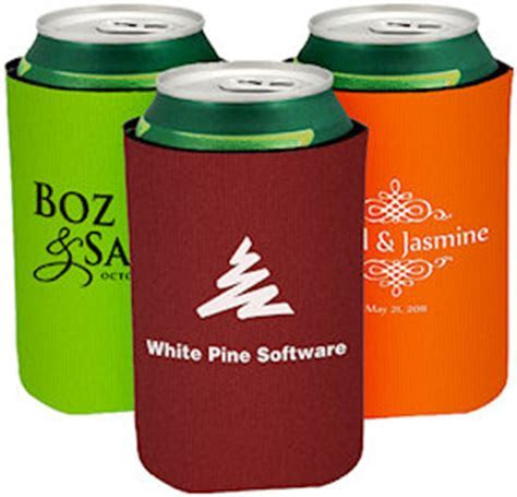Collapsible Can Coolers (Bottom Imprint)   Custom Koozies