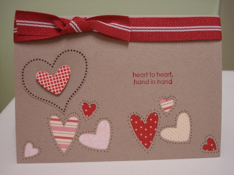 Kraft, RH red punched hearts