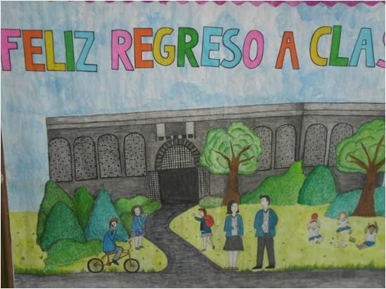 Carteleras De Bienvenida Colegio La Epifania Eucaristia Hogar Y