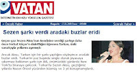 Vatan newspaper's article
