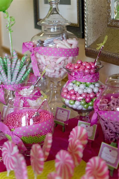Communion Candy Bar decorated by Tablescapes to Go
