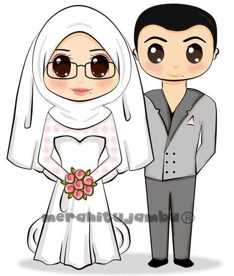Gambar Kartun Hijab Cantik Hitam Putih All About Woman And Girls