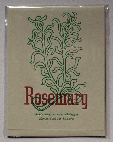 Rosemary card