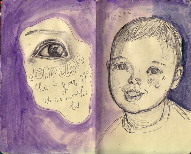 Dylan & Elliot Art Journal - p10