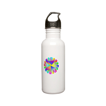 Twisted Rainbow Stainless Steel Water Bottle