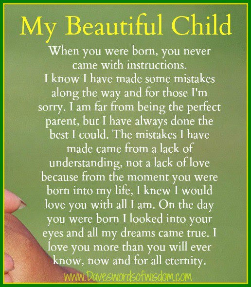 Quotes About Children And Love Quotes About Love