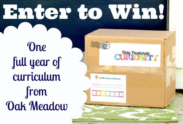Oak Meadow Giveaway