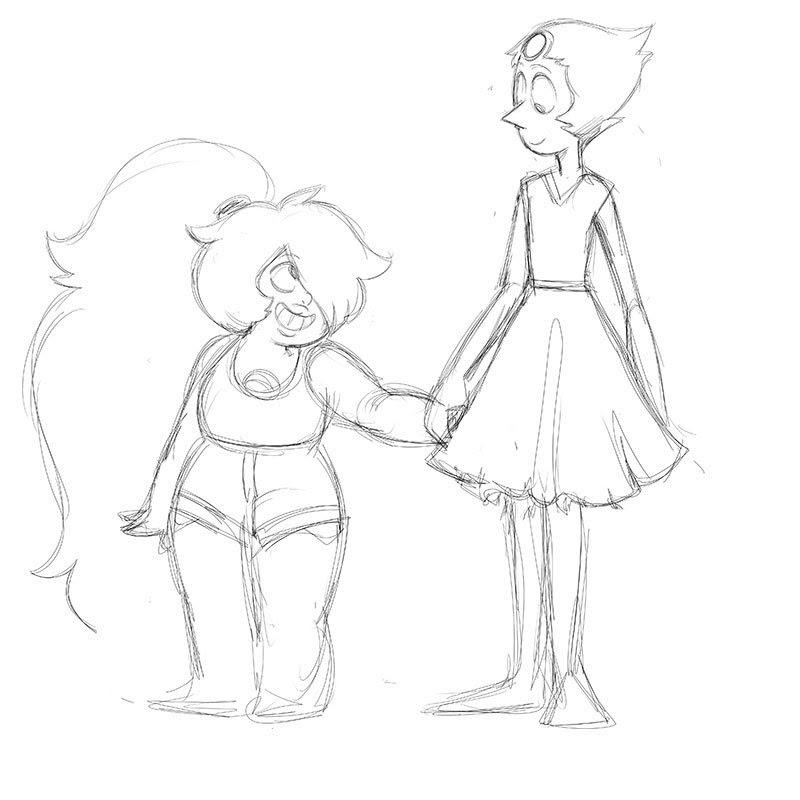 Pearlmethyst sketch