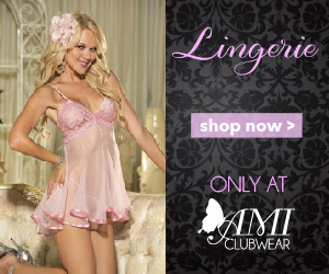 Shop AMIclubwear.com for great deals on sexy lingerie.