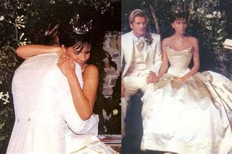 DAVID AND VICTORIA BECKHAM HAVE RENEWED THEIR WEDDING VOWS