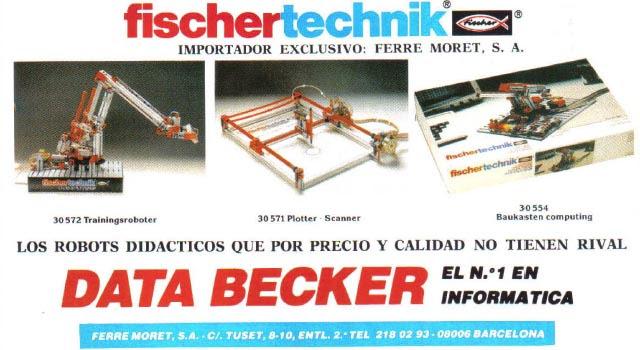 Databecker Fischertechnik