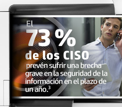 73% of CISO's expect a major security breach within a year.3