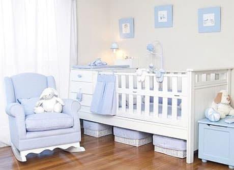 Embarazada : ideas de decoración del cuarto del bebé