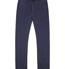 Reiss Exmouth Garment Dye Clean Chino Navy