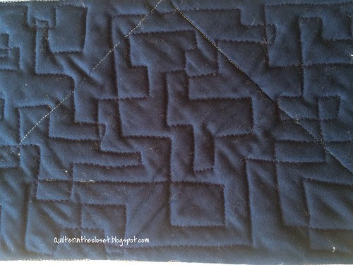 Geometric Allover quilting pattern