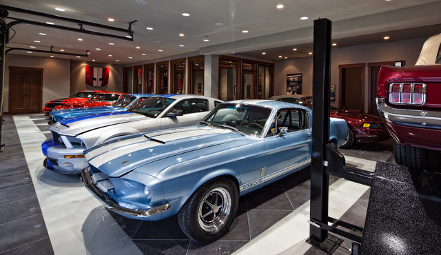 MAN CAVE - DREAM GARAGE - contemporary - garage and shed ...