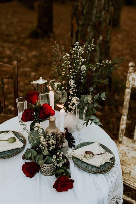 Moody Woodland Wedding Inspiration   The Wedding Playbook