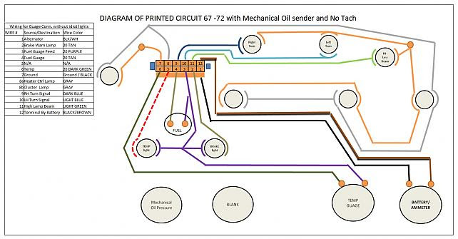 73 87 Chevy Truck Factory Tach Wiring