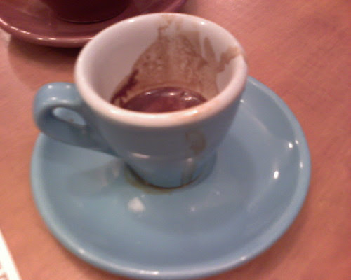Shot of Counter Culture Coffee Toscano @ cafe grumpy (chelsea)