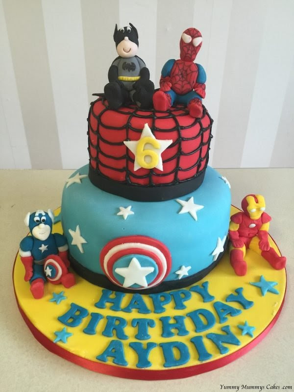 Boys Birthday Cake | Yummy Mummys Cakes - Cakes for all ...