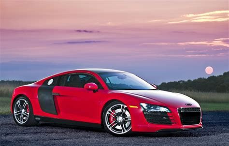 ???? supercar, audi r8, red ???????? ?? ??????? ????, ?????? audi ???????