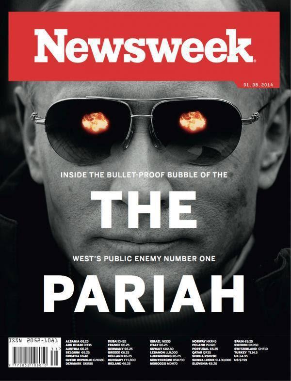 Newsweek è uno degli anni anti-Putin Hetzer penetrantesten