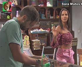 Sara Matos super sensual na novela Terra Brava