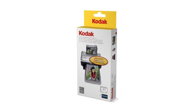 Kodak Color Cartridge Photo Paper Kit Ph 40
