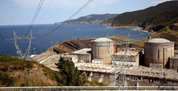 The abandoned nuclear power plant at Lemoniz.
