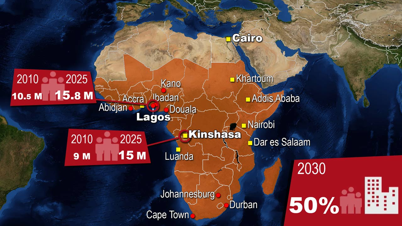 Emerging Markets In Africa  E2 80 A2 Explained With Maps
