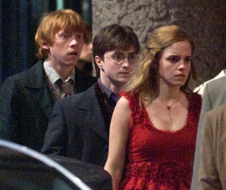 harry potter and the deathly hallows filming. Pictures: Harry Potter filming