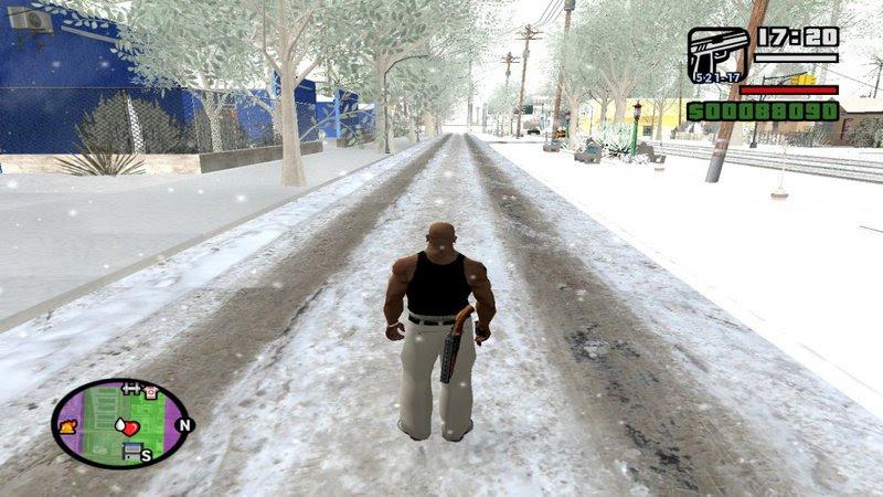 Gta San Andreas Mini Snow Pack Mod Gtainside Com