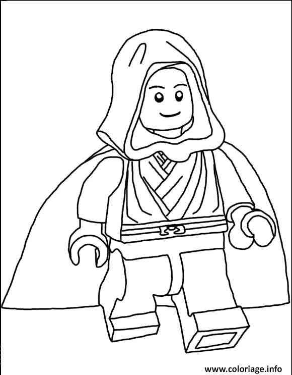 Coloriage Lego Star Wars 71 Jecoloriecom