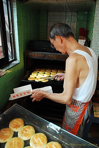 香港老婆餅師傅
