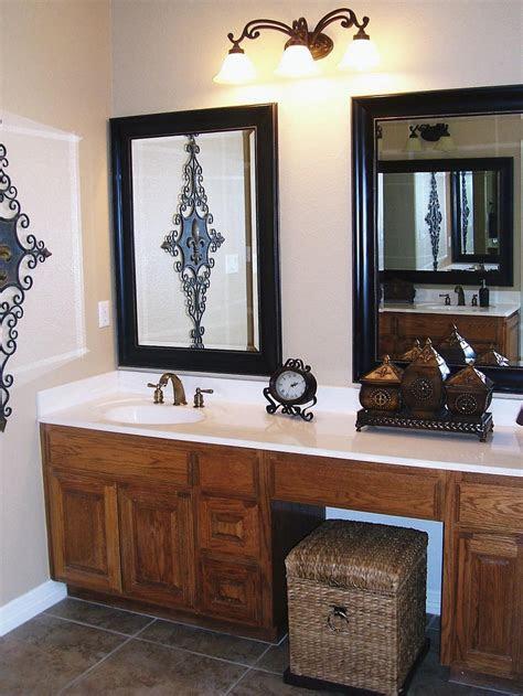 bathroom vanity mirrors  aesthetics  functions
