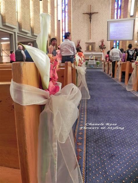 Church Wedding Decor     Rose Flowers Blog  Sydney