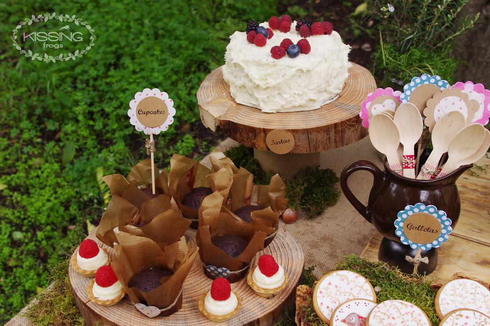 Kissing frogs talleres-cupcakes y tarta