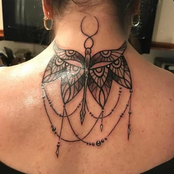 75 desenhos de tatuagem de libélula bonito e sexy 36 por Bryan
