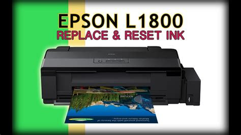 reset refill ink epson  printer easy tutorial