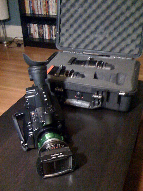 AF100 w/ 35mm Lomo Anamorphic