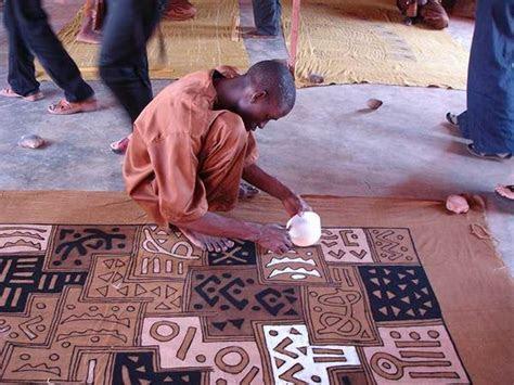 African Mud Cloth & Bogolan Fabric   African Decor