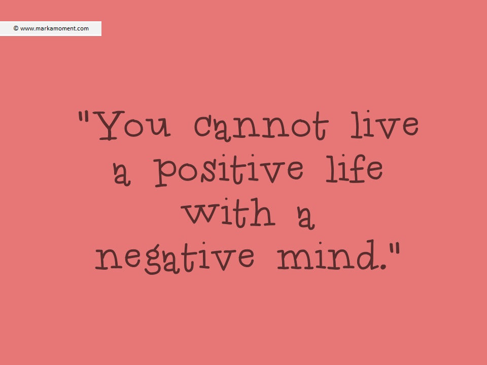 Quotes About Being Positive Attitude. QuotesGram
