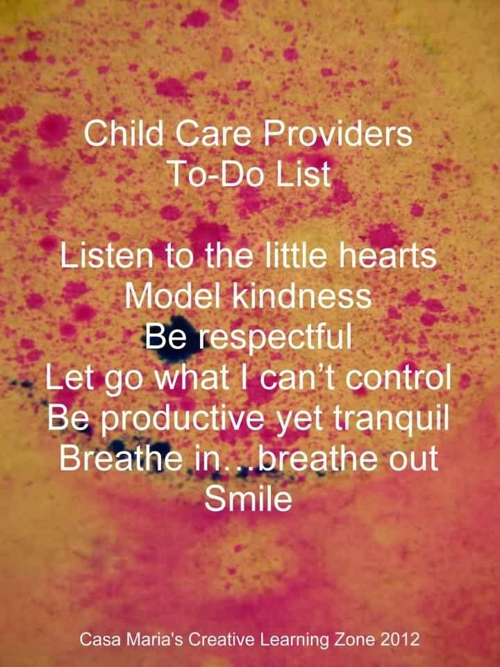 Child Care Provider Quotes Ssquoteorg