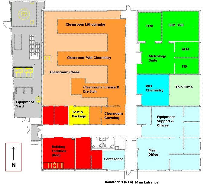 Laboratories - Nanotechnology Research & Education Center