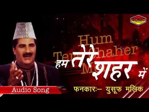 हम तेरे शहर में Ham Tere Shahar me best ghazal lyrics sung by Yusuf Malik |
