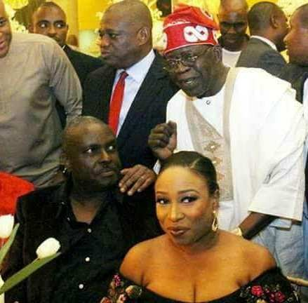 Yet To Be Convicted And Never-Will Be-Convicted: See The Interesting SR Caption Of Tinubu, Ibori and Orji Photo At Orji Uzor Kalu's Daughter Wedding