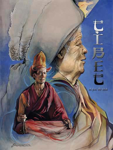 Portada Tibet, el joc de rol