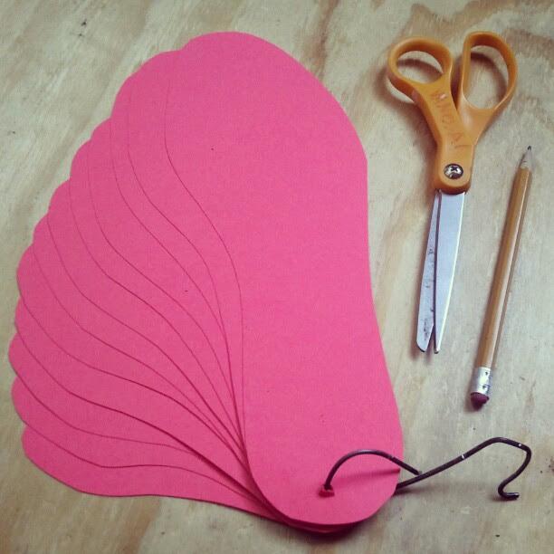 Making #shoe #patterns for wool #cobbling
